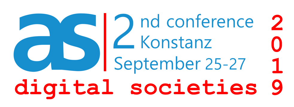 Digital Societies 2019 - Second Conference of the Academy of Sociology