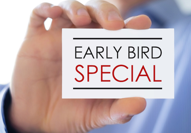 Get your early bird rate!